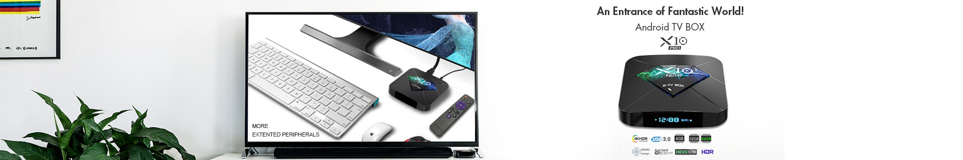 x10 4K Android TV Box