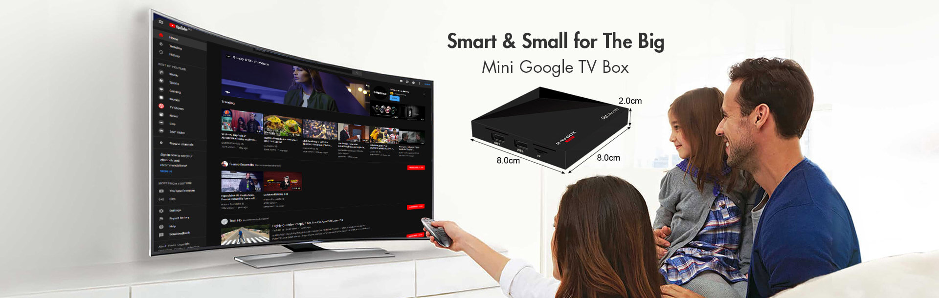 R-TV BOX MINI--RK3229