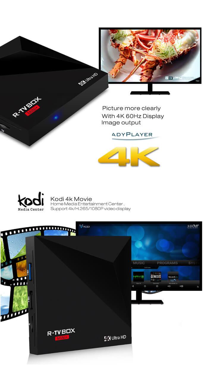 R-TV BOX MINI  RK3328