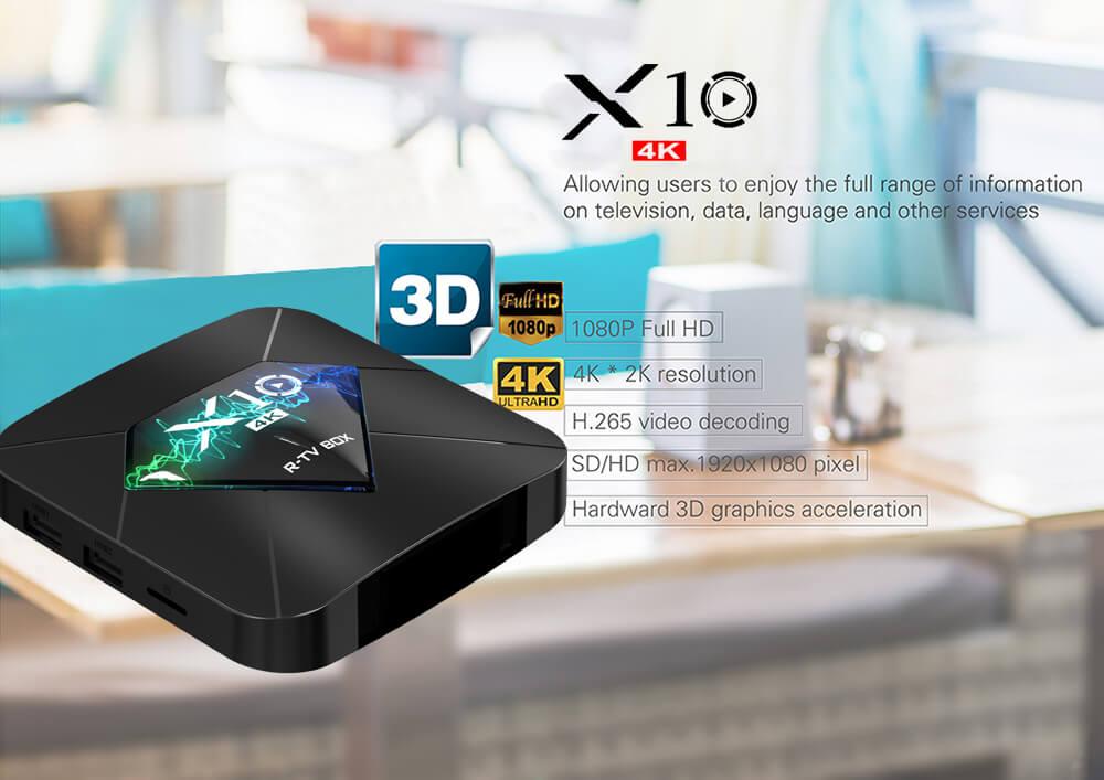 R-TV BOX X10 -S905W
