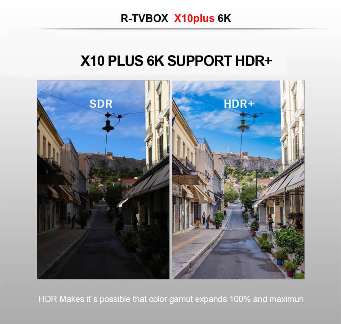 R-TV BOX X10 PLUS-Alwinner H6-4G32G