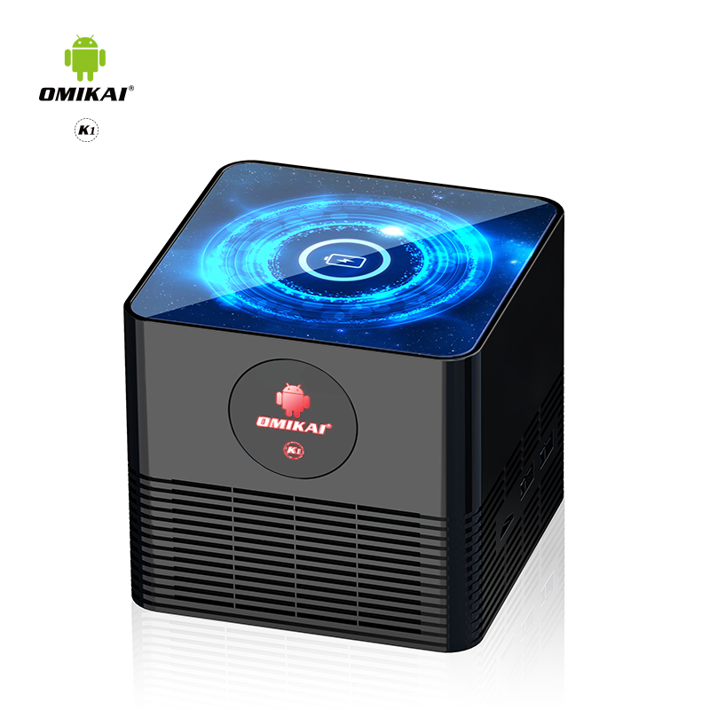 Omikai K1 New TV BOX Allwinner Android 10 os BT 5.0 Wireless charging