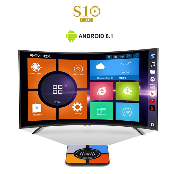 R-TV BOX S10 Rockchip RK3328